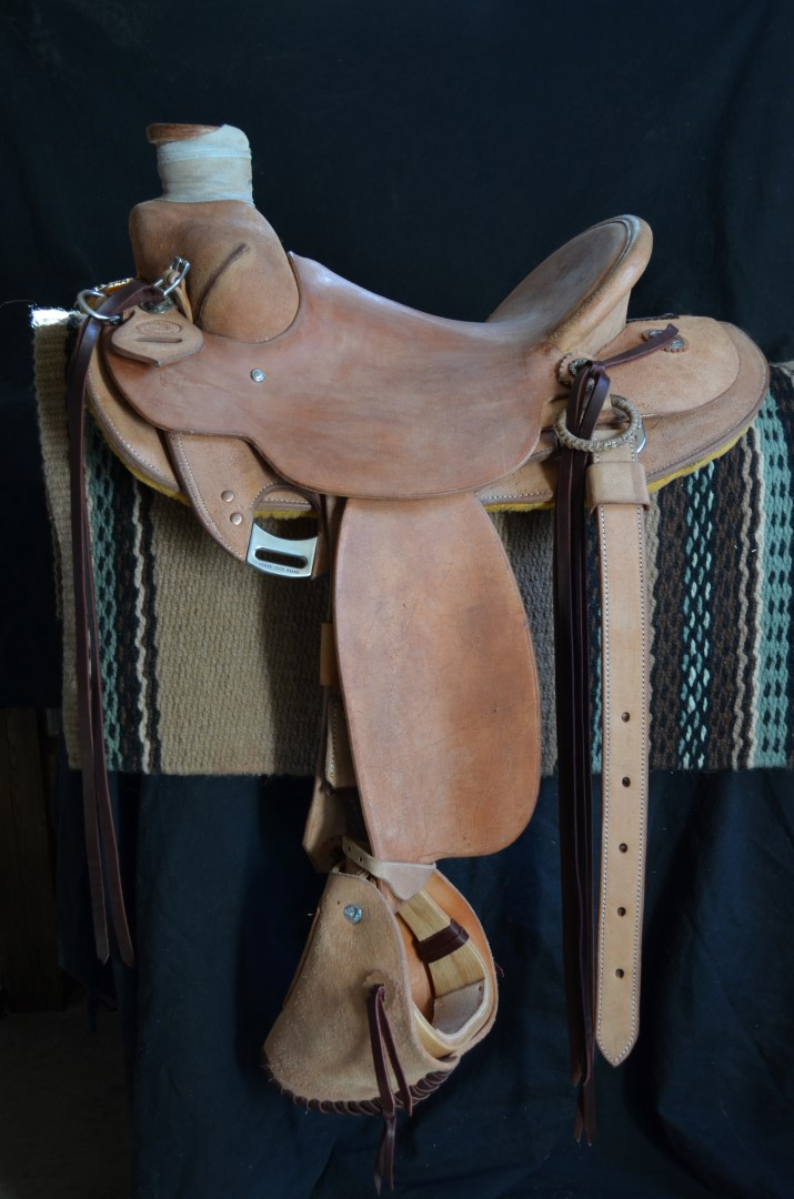 Will James Wood Post Ranch Saddle